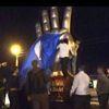 Düzce'de Kavşağa 'Rabia' Heykeli (2)