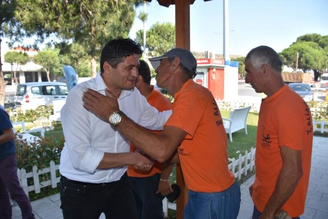 İzmir'deki Belediye Başkanları Personelleriyle Bayramlaştı