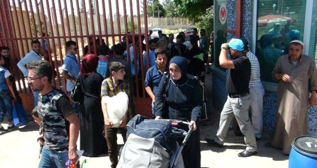 Bayram İçin Ülkesine Giden Suriyeliler'den 8 Bini Döndü