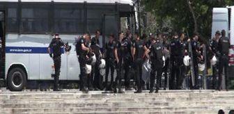 Taksim'de LGBTİ Yürüyüşü Önlemi! Gezi Parkı Yaya Giriş-Çıkışına Kapatıldı