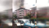 Korkutan Yangın Kamerada