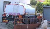 Antalya'da Akaryakıt Tankeri Eve Daldı