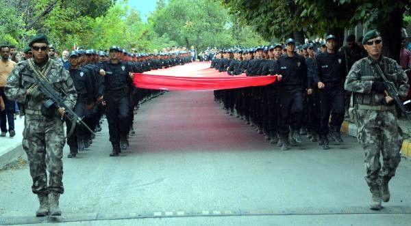 Karabük'te 15 Temmuz Yürüyüşü