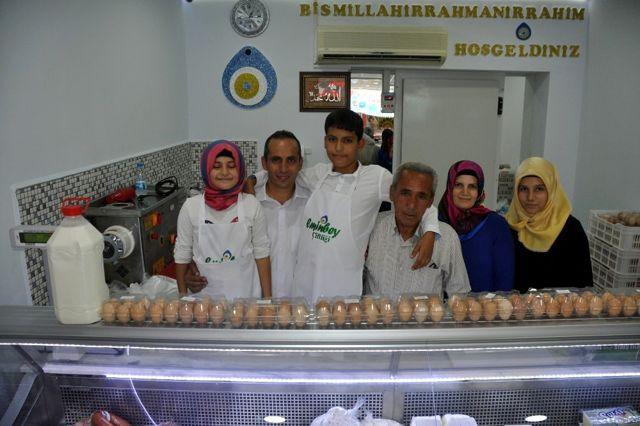 Bozdoğan'da Hastalıktan Ari Süt İşletmesi Açıldı