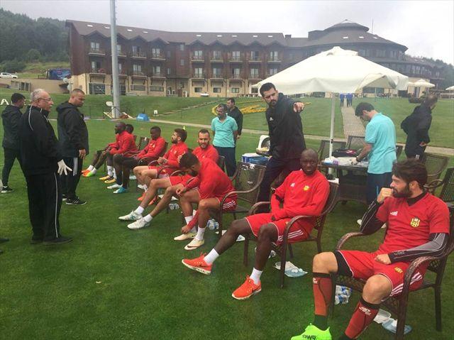 Evkur Yeni Malatyaspor Futbolcuları, Laktat Testinden Geçti