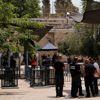 İsrail, Mescid-i Aksa'da Dedektörlerden Sonra Bu Kez de Güvenlik Kameraları Kuruyor