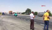 Konya Hafif Ticari Araçla Çarpışan Otomobil İkiye Bölündü: 5 Kişi Yaralandı