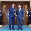 Başbakan Yıldırım Kırgız Cumhuriyeti Başbakanı Jeenbekov ile Görüştü