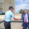 Vali Elban, Hamur İlçesini Ziyaret Etti