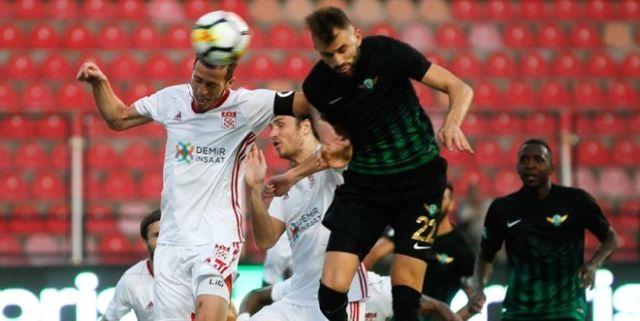 Akhisar, Süper Lig'in İlk Haftasında Sivasspor'u 1-0 Yendi