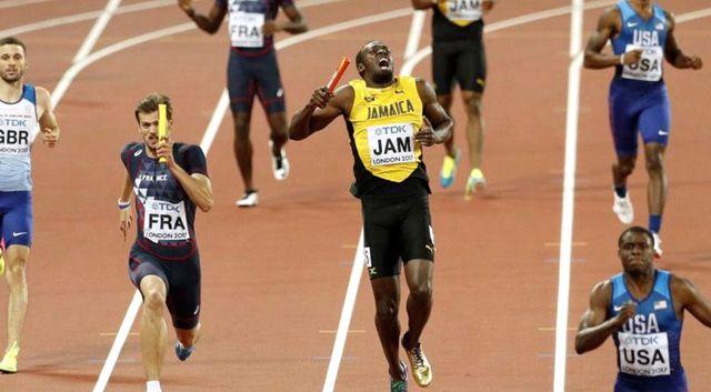 Bolt Sakatlandı! Büyük Britanya Kazandı