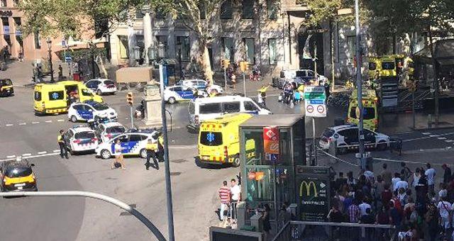 Barselona'daki Terör Saldırısına Türkiye'den İlk Tepki: Lanetliyoruz