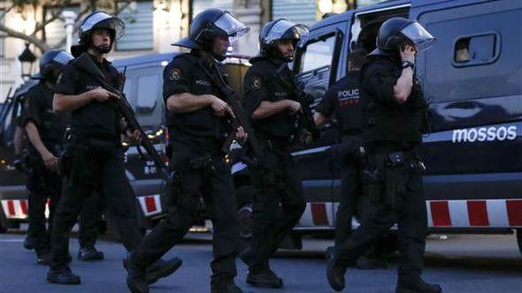 Terörle Sarsılan İspanya'da Sabaha Karşı Çatışma Çıktı: 4 Şüpheli Öldürüldü