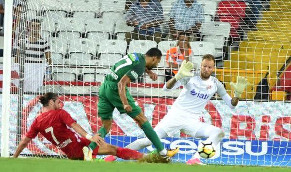 Antalyaspor- Akhisar Belediyespor: 2-2