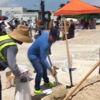 Florida Eyaletinde Kum Torbalı Önlem