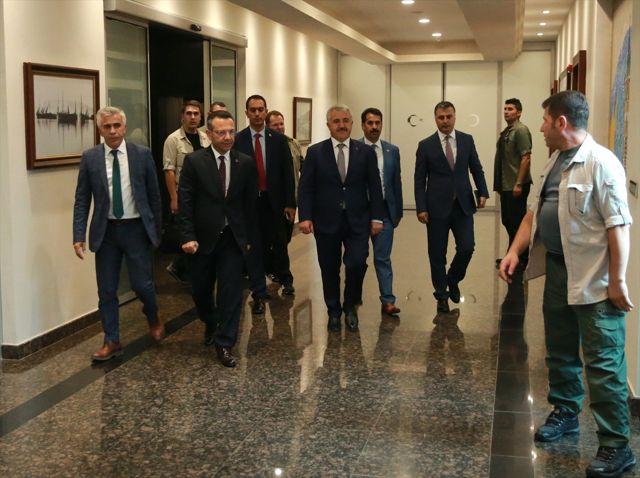 Bakan Arslan, Kocaeli Valiliği'ni Ziyaret Etti