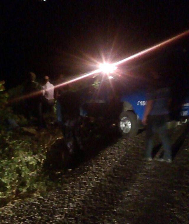 Otomobil Uçurumdan Yuvarlandı: 4 Ölü, 2 Yaralı