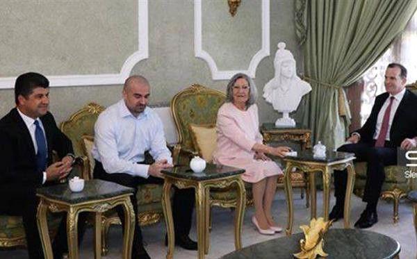 Trump'un Temsilcisi Mcgurk, Önce Ebadi Sonra Talabani'nin Eşi ile Görüştü