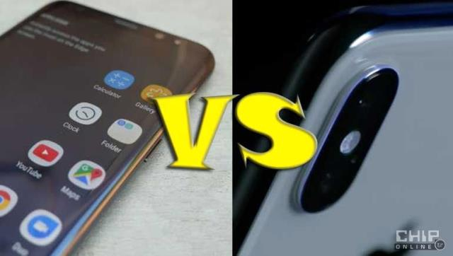 İphone X Vs Samsung Galaxy S8