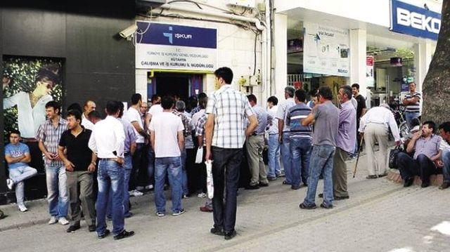İŞKUR'a Kayıtlı İşsiz Sayısı 2,5 Milyonu Aştı