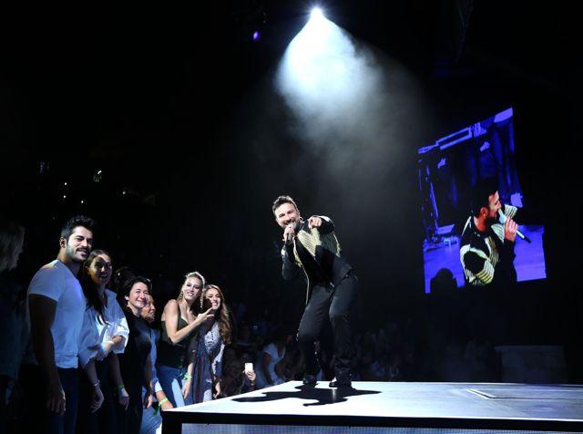 Ünlüler Tarkan Konserine Akın Etti