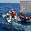 Nefes Kesen Kaçak Göçmen Operasyonu, Havadan Saniye Saniye Görüntülendi