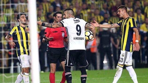 Beşiktaşlı Negredo: Fenerbahçe Maça Değil Kavgaya Gelmiş