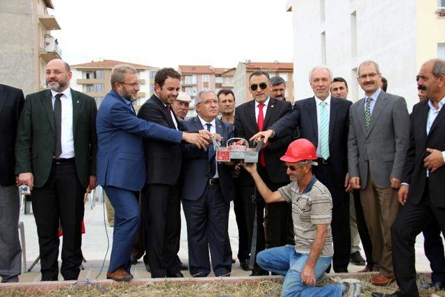Hazer Dinari Camii'nin Temeli Törenle Atıldı