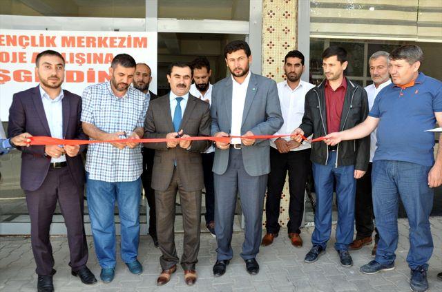 Muş'ta Gençlik Merkezi Açıldı