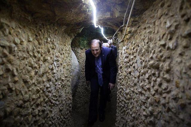 Vali Pehlivan, Yeraltı Şehri'ni Ziyaret Etti