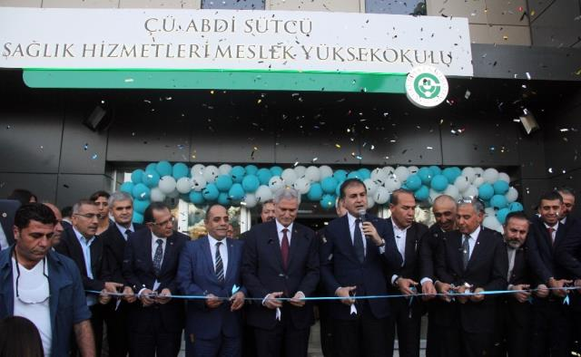 AB Bakanı Çelik, Abdi Sütçü Sağlık Hizmetleri Meslek Yüksekokulu'nun Açılışını Yaptı