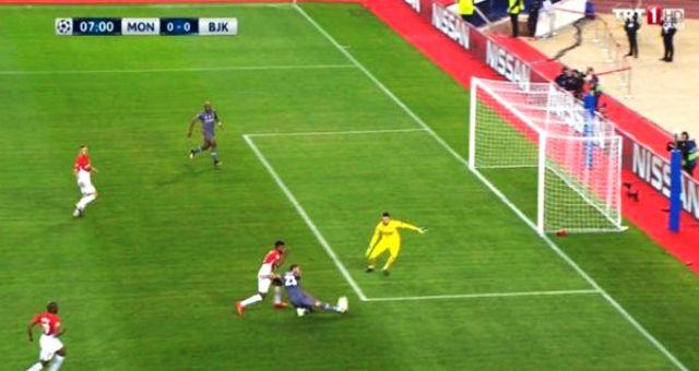 Monaco Maçında Beşiktaş'ın Golü Güme Gitti