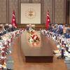 Cumhurbaşkanı Erdoğan, Amerikan Türk Konseyi ve ABD Ticaret Odası Heyetini Kabul Etti