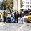 Çınarcık'ta Taksiciler Eylem Yaptı