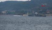 Çanakkale Rus Mayın Tarama Gemisi, Çanakkale Boğazı'ndan Geçti