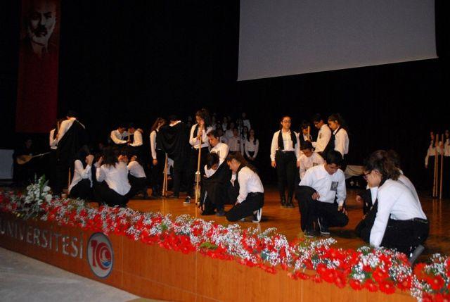 Burdur'da Atatürk'ü Anma Programı