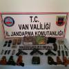 Van'da, PKK Operasyonunda Silah ve Mühimmat Ele Geçti