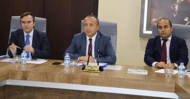 Siirt'te Çocuk Koruma Kanunu İl Koordinasyon Kurulu Toplantısı Yapıldı