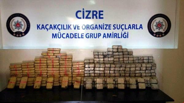 Şırnak'ta 120 Kilo Eroin Ele Geçirildi