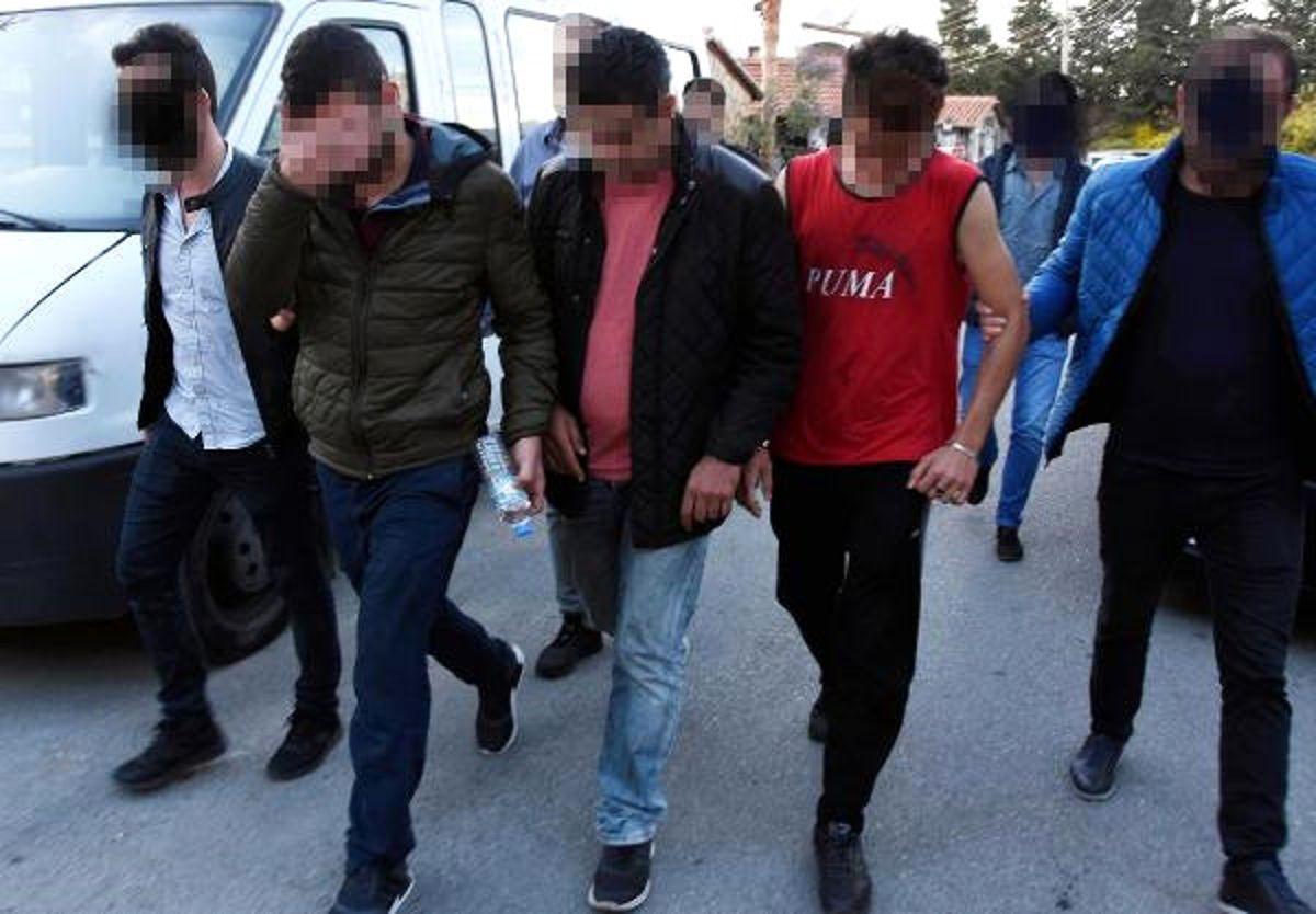 Kaçaklar ve Organizatörler Arasında Kavga Çıktı: 20 Gözaltı