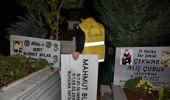 Diyarbakır'da PKK'lı Teröristlerin Mezar Taşları Değiştirildi,
