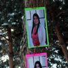 Öğretmenlerin Resimlerini Ağaçlara Asarak Sürpriz Yaptılar