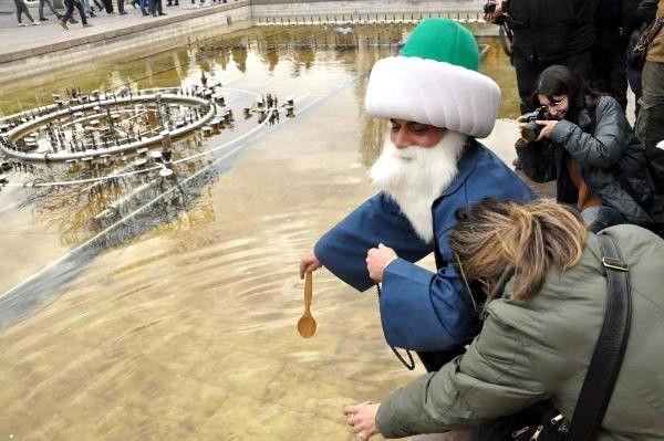 Ankara'da Engelliler Havuza Maya Çaldı