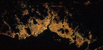 NASA Astronotu Uzaydan İstanbul'u Çekti, Twitter'dan Paylaştı