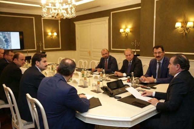 Başkan Toçoğlu ve Milletvekillerinden Spor Bakanı Ak'a Ziyaret