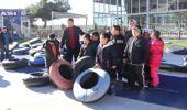Görme Engelli Öğrencilerin Kayak Keyfi