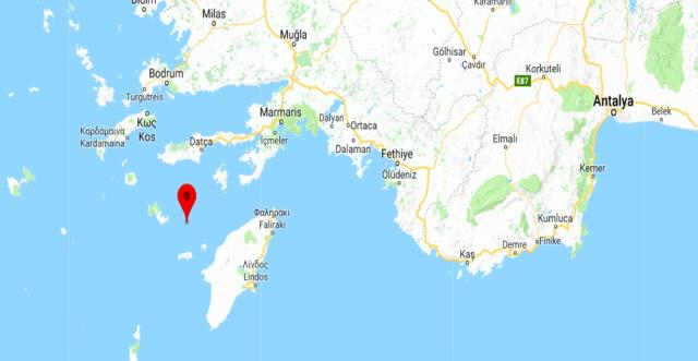 Muğla'da 4.5 Büyüklüğünde Deprem