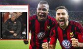 Avrupa Liginde Östersunds'tan Arsenal'e Güldüren Mesaj