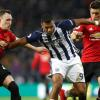 West Bromwich Albion-Manchester United: 1-2