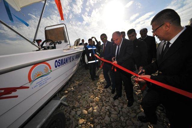 Osmaniye Su Ürünleri Kontrol Teknesi Hizmete Başladı